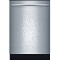 SHX3AR75UC Bosch Ascenta with Hidden Controls Dishwasher - Stainless Steel