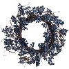 24 Inch Blue Berry Wreath Arrangement