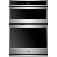 WOC75EC0HS Whirlpool Double Wall Oven with Microwave - Stainless Steel