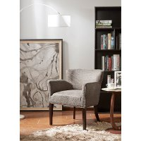Charcoal Gray Office Guest Chair