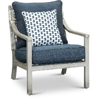 Driftwood Gray Patio Lounge Chair - Rockport