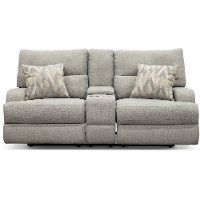 3268-54HP/PWRLV/SHRK Archie Shark Gray Power Reclining Loveseat - Brindle