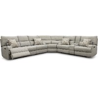 Archie Shark Gray Power Reclining Sectional Sofa - Brindle