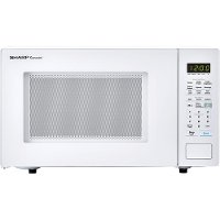 SMC1441CW Sharp Countertop Microwave - 1.4 cu. ft. White