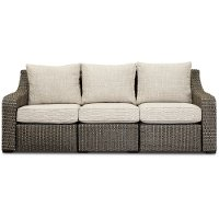 Woven Patio Sofa with Motion - Lemans