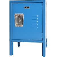 Blue Metal Mini Kids Locker