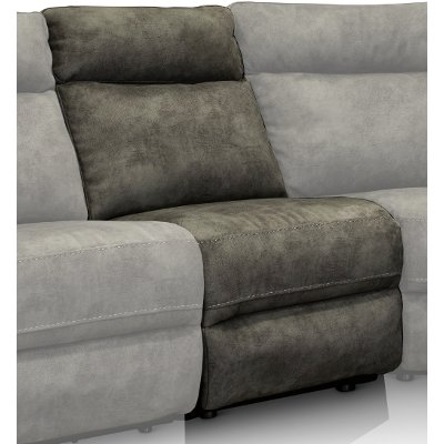 Gray Armless Chair - Maci