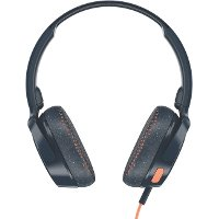 S5PXY-L636 Skullcandy Riff Headphones - Gray/Orange