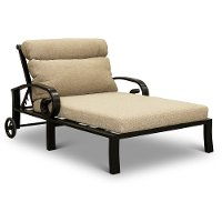 Patio Chaise Lounge Chair - Avila