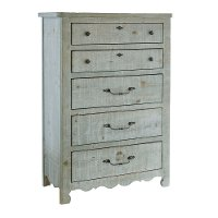 Farmhouse Mint Pine Chest of Drawers - Chatsworth