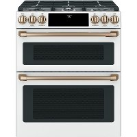 CGS750P4MW2 Cafe Double Oven Gas Range - 7.0 cu. ft. White
