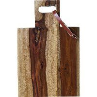 Magnolia Home Furniture Square Sheesham Wood Cutting Board