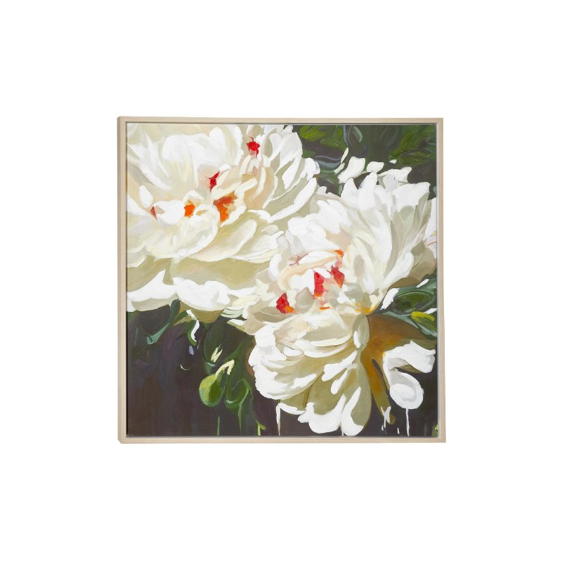 39 inch floral framed canvas wall art rcwilley image1~800