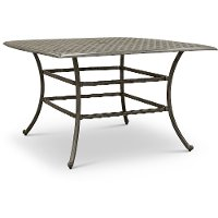 Cast Metal Bar Height Patio Table - Macan