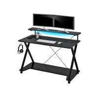Black Gaming Desk - Z Line Series