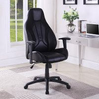 Black Performance Gaming Chair