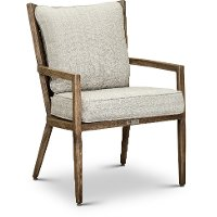 Light Brown Lounge Patio Dining Chair - Trevi