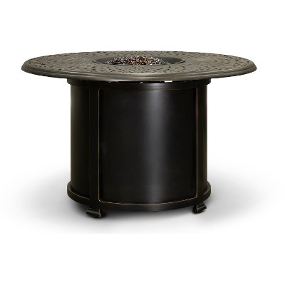 Traditional Round Patio Fire Pit - Charleston