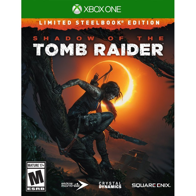 Shadow of the Tomb Raider Steelbook Limited Edition - Xbox One
