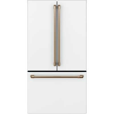 CWE23SP4MW2 Cafe Counter Depth French Door Smart Refrigerator - 23.1 cu. ft., 36 Inch Matte White