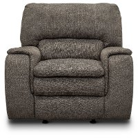 Silver Gray Transitional Rocker Recliner - Cyprus