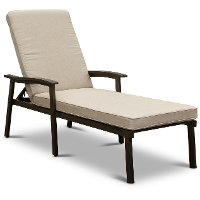 Ash Patio Chaise Lounge Chair - Glenwood
