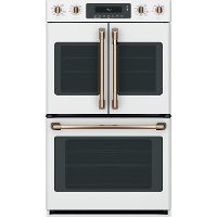 CTD90FP4MW2 Café 30  Built-In Double Convection Wall Oven - Matte White