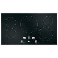 CEP70362MS1 Cafe 36  Built-In Knob Control Electric Cooktop - Black