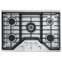 CGP95302MS1 Cafe 30 Inch Gas Cooktop - Stainless Steel