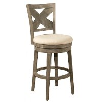 4459-827 Weathered Gray 26 Inch Upholstered Counter Height Stool - Sunhill