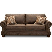 Casual Traditional Mocha Brown Sofa Bed - Tahoe