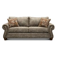 Casual Traditional Graphite Brown Sofa Bed - Tahoe