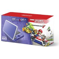 2DS JAN S VBDB New Nintendo 2DS XL with Mario Kart - Purple and Silver