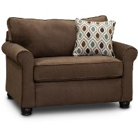 Chocolate Brown Twin Sofa Bed - Jojo