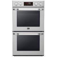 LSWD307ST LG STUDIO 30 Inch Smart Double Wall Oven with Convection - 9.4 cu. ft. Stainless Steel