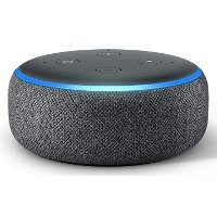 B0792KTHKJ Amazon Echo Dot - Charcoal, 3rd Generation