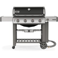 67011001 Weber Genesis II E-410 Natural Gas Grill Black