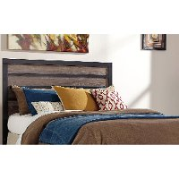 Rustic Modern Full-Queen Headboard - Harlinton