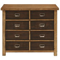Rustic Hickory Brown 2 Tone Lateral File - Heritage