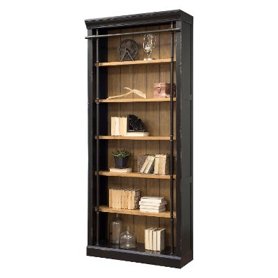 Black and Honey Bookcase - Toulouse