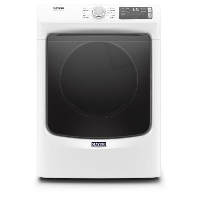 MED5630HW Maytag Electric Front Load Dryer with Quick Dry cycle and Extra Power - White