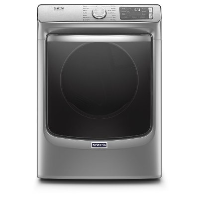 MED8630HC Maytag Smart Front Load Electric Dryer - 7.3 cu. ft. Chrome
