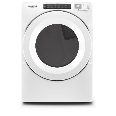 WGD5620HW Whirlpool Intuitive Touch Controls Gas Dryer - 7.4 cu. ft. White