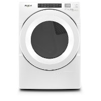 WHD560CHW Whirlpool Electric Vented Dryer with Advanced Moisture Sensing - 7.4 cu. ft  White
