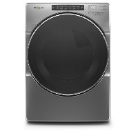 WED6620HC Whirlpool 7.4 cu. ft. Electric Dryer with Steam Cycles - Chrome