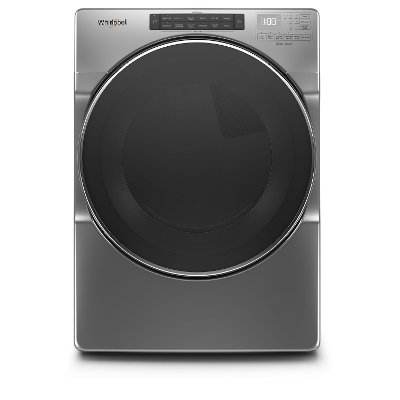 WGD6620HC Whirlpool 7.4 cu. ft. Gas Dryer with Steam Cycles - Chrome
