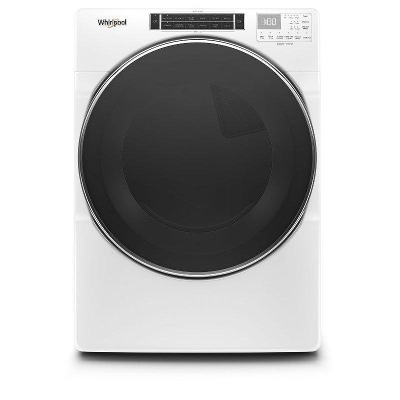 Whirlpool Electric Dryer with Steam Refresh Cycle - 7.4 cu. ft. White