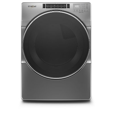 WED8620HC Whirlpool Electric Dryer with Steam Cycles - 7.4 cu. ft.  Chrome