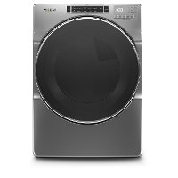 WGD8620HC Whirlpool Gas Dryer with Steam Cycles - 7.4 cu. ft. Chrome