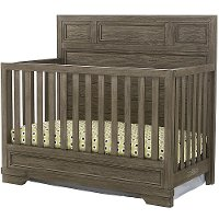 FN-CR-2701NR-BPT Rustic Pewter Gray 4-in-1 Convertible Crib - Foundry